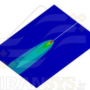 بررسي عددی توزيع دما و تنشهای پسماند در جوشکاری ورق آلیاژ آلومینیوم به روش GMAW
