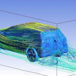 بررسی جریانهای سیالاتی و شبیهسازی تونل باد برای خودروی طراحی شده و بهینهسازیهای بدنه از نظر آیرودینامیکی برای کاهش مصرف سوخت