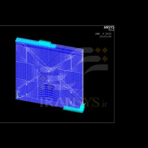 تحلیل استحکام دیواره بتنی مسلح شده با لایه های پلیمر تقویت شده Fiber Reinforced Polymer (FRP)