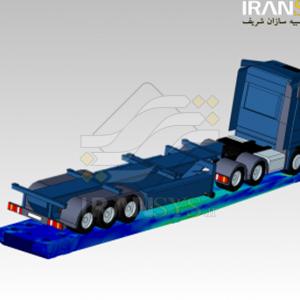 تحلیل سازهای بالابر خودروهای سنگین