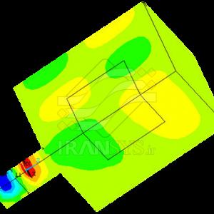 تحلیل میدانهای کوپله حرارتی-الکتریکی دستگاه مایکروویو