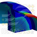 شبیهسازی و تحلیل Tube Sheet مبدل حرارتی نیروگاه زرگان