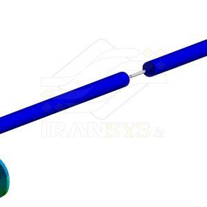 طراحی وبهینه سازی عایق ارتعاشی مناسب برای کاهش ارتعاشات منتقل شده از محور رانشی شناور