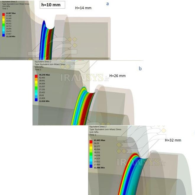 بررسی و مقایسه اثر حذف ترک بر توزیع تنش روتور